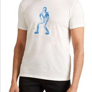 John Varvatos USA Bowie Ziggy Stardu T-shirt  NEW